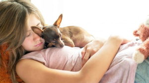 Studi Membuktikan Wanita Tidur Dengan Anjing Lebih Sehat Daripada Manusia