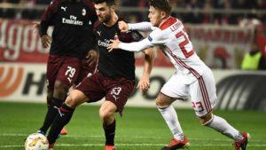 Olympiakos Menjadi Mimpi Buruk Bagi AC Milan