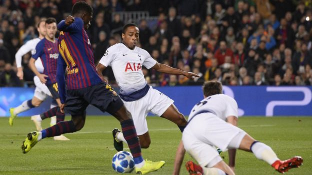 Perjuangan Tottenham Lolos Ke Fase Knock Out