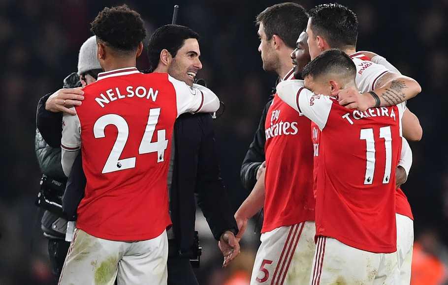 Mikel Arteta Puji Pemainnya Saat Arsenal Menahan Imbang Chelsea 2-2