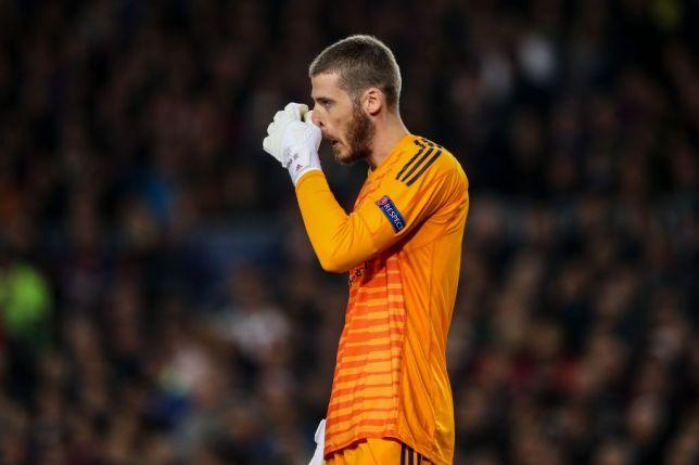 David de Gea dikabarkan telah meminta maaf kepada rekan satu timnya di Manchester United setelah laga melawan Barcelona